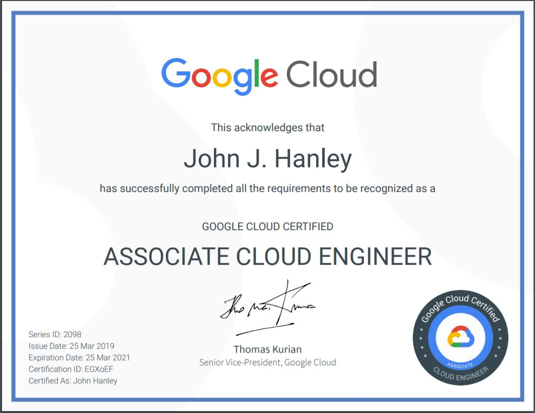 Tag: Google - John Hanley