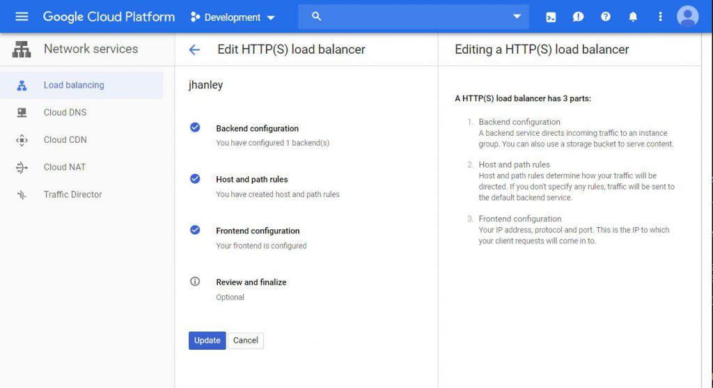 Google Cloud - HTTP Load Balancer and IPv6 - John Hanley