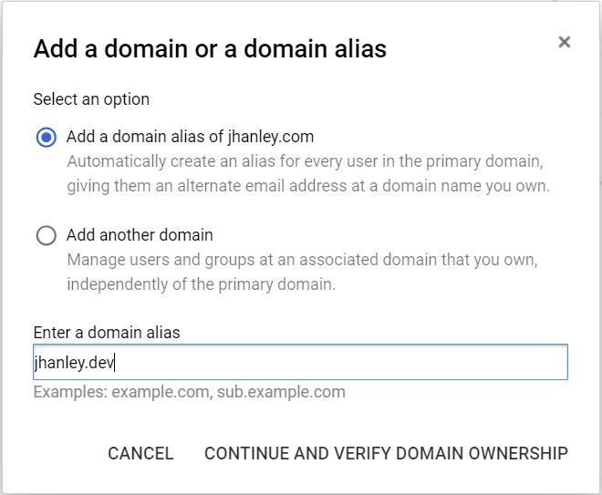 Google Domains - Purchasing a Domain Name - John Hanley